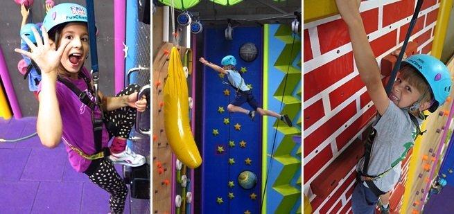 Fun Climb is klimplezier voor jongens en meisjes